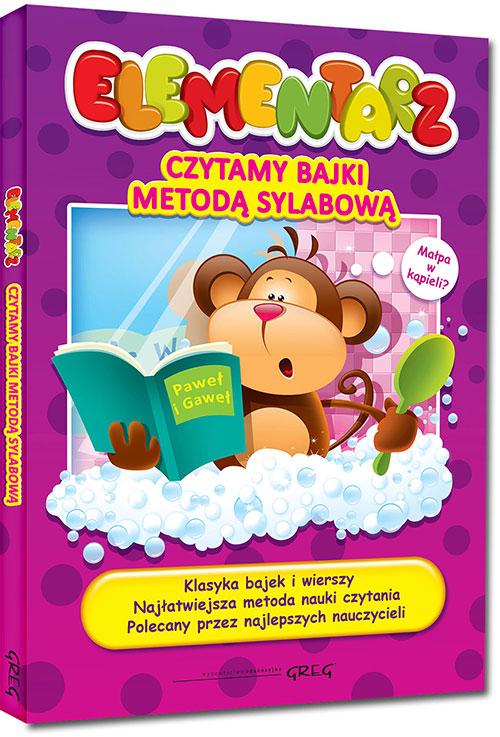 Elementarz Czytamy Bajki Metodą Sylabową Nakina
