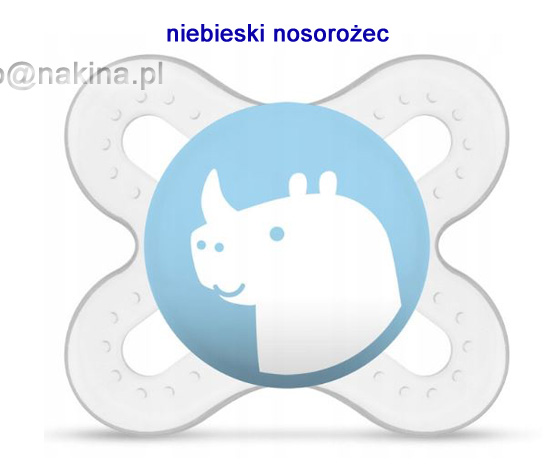smoczek MamBaby Start Nature Sky